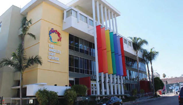 Gay and lesbian centre in weho