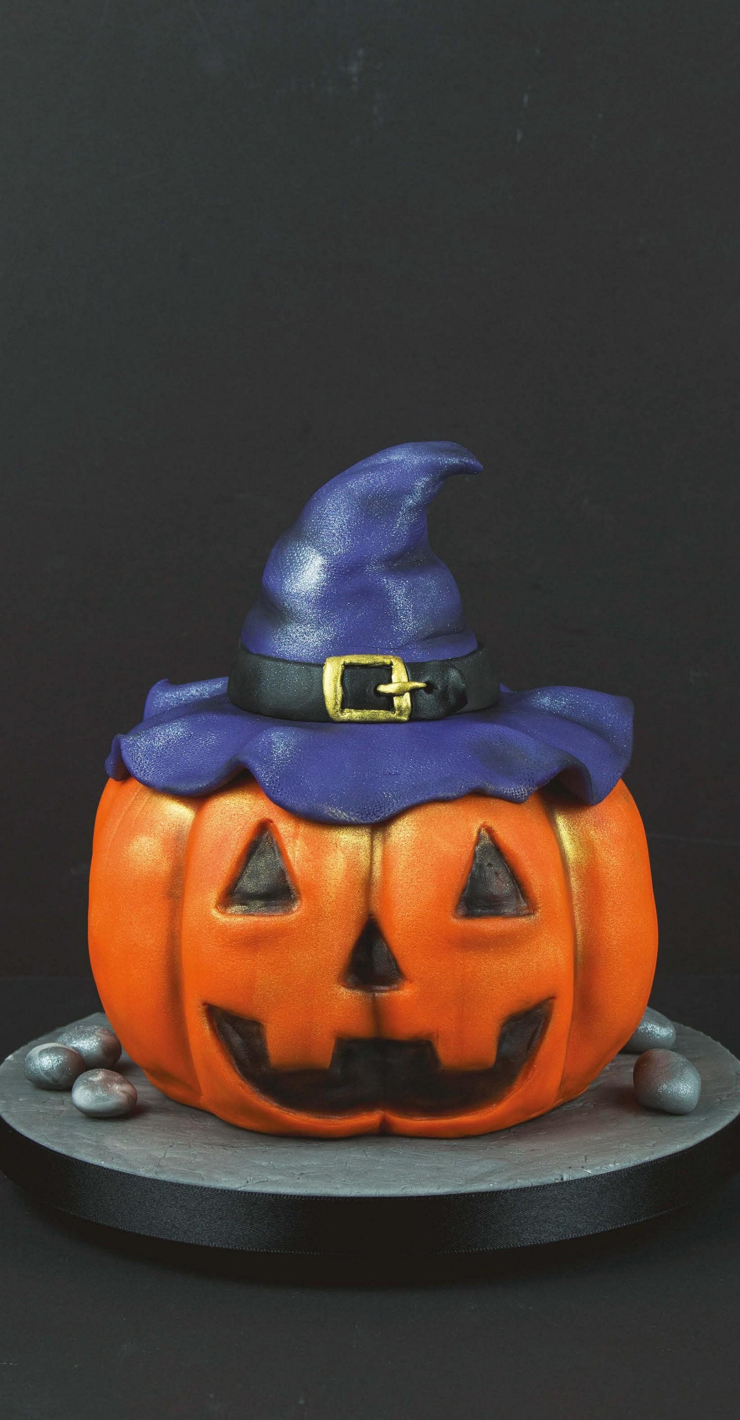 halloween pumpkin cake | pocketmags