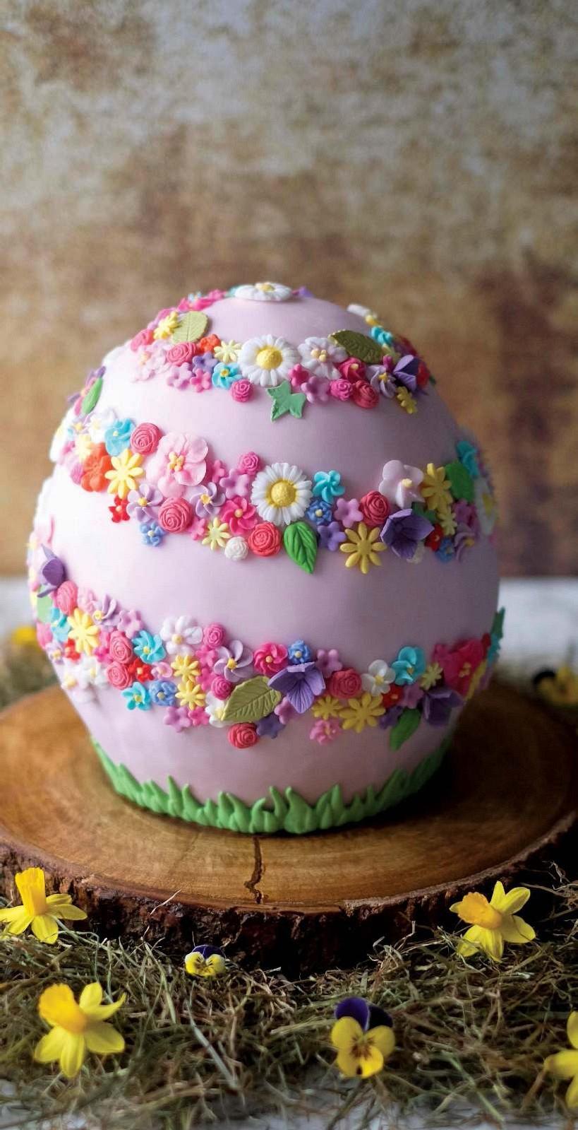 Easter Egg Cake Pocketmags Com