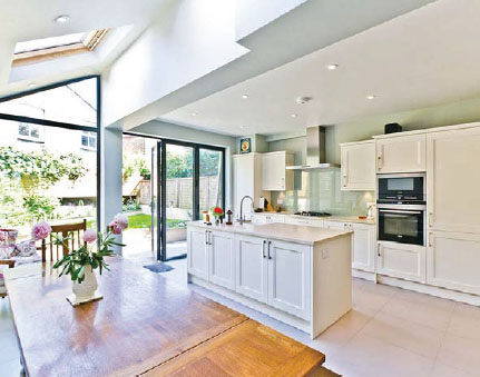 Go with the flow and opt for an open-plan layout ...