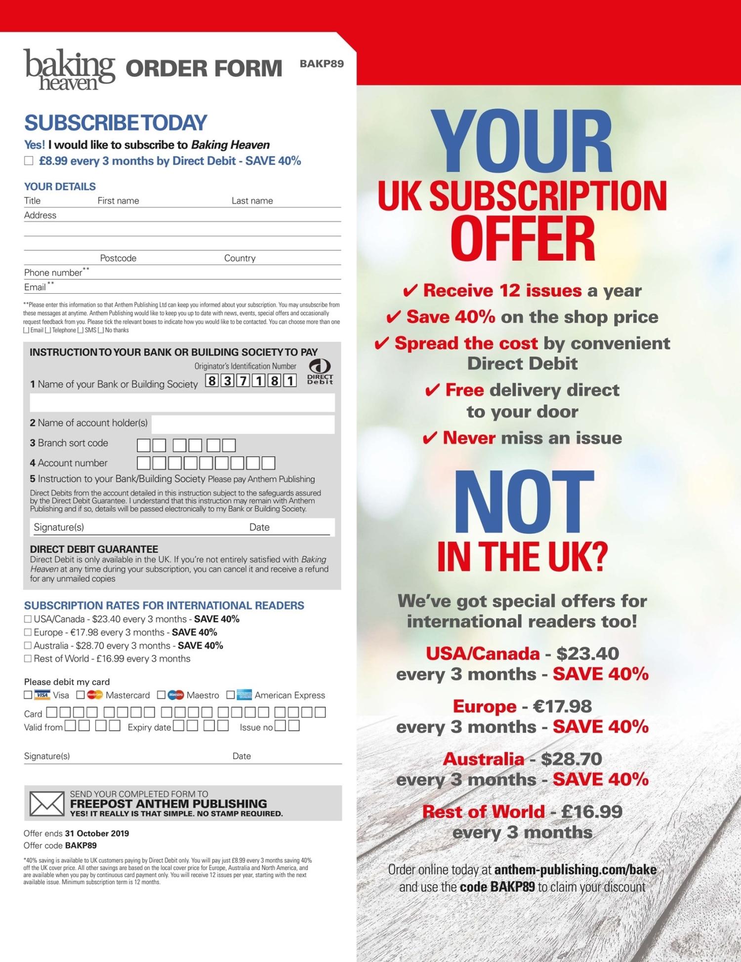 Your Uk Subscription Offer Pocketmagscom