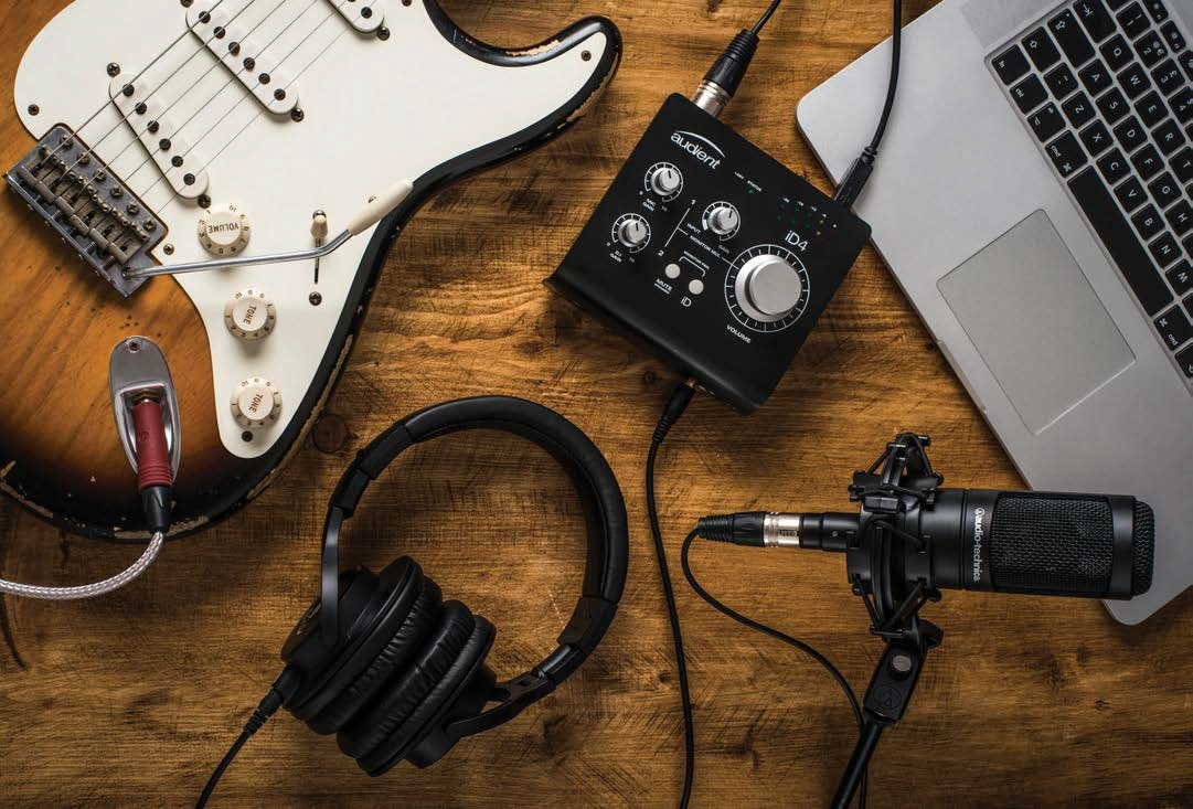 WIN A complete Audio-Technica home recording studio