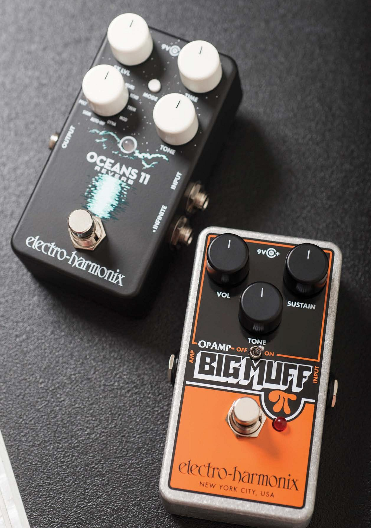 Electro Harmonix Oceans 11 Op Amp Big Muff Pi Effect First Established In 1967 Is Arguably The Closest Thing We Have To A Heritage Effects Pedal Brand Sounds Created By These Legendary