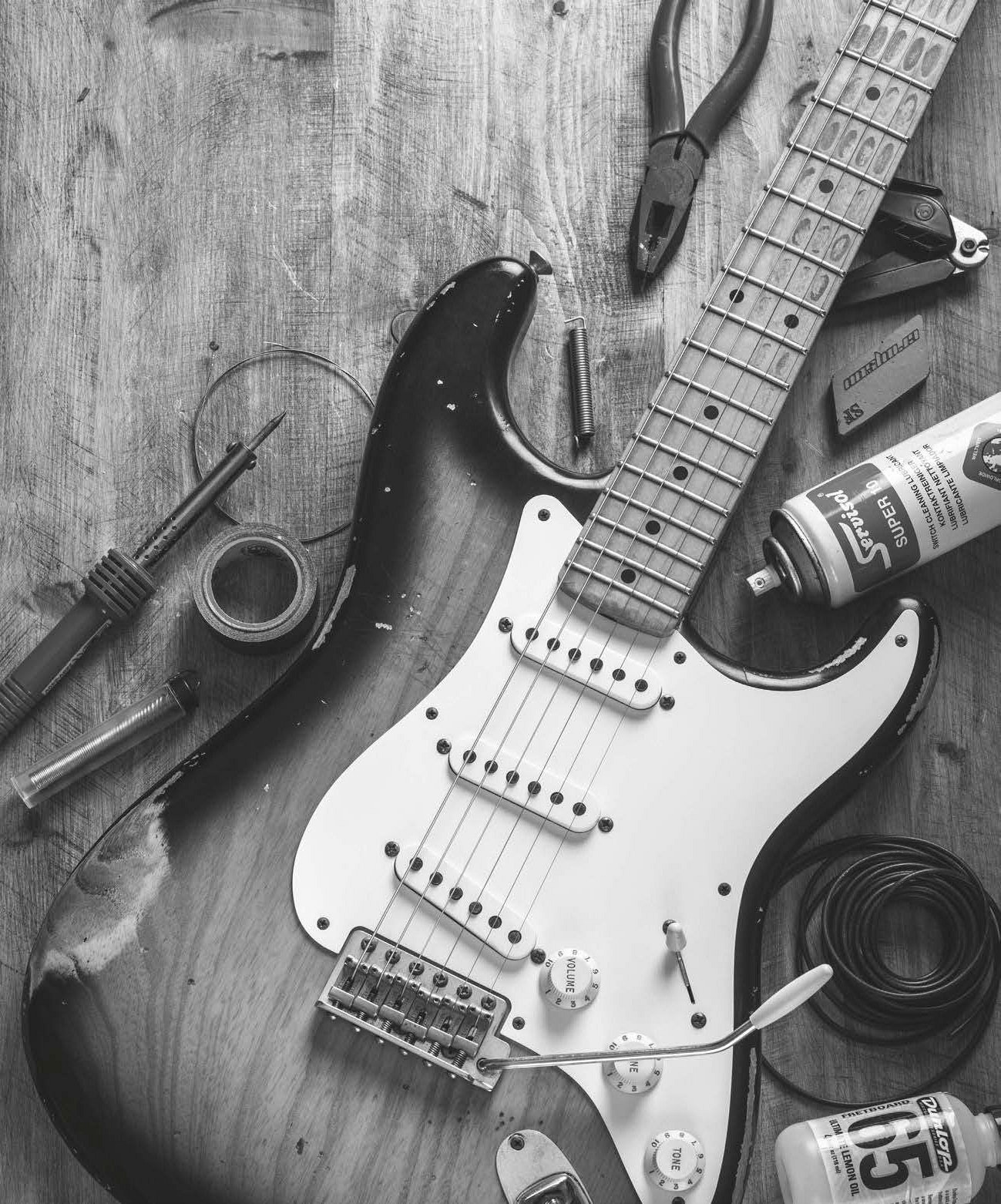 be your own guitar tech 45 essential maintenance & tone tips