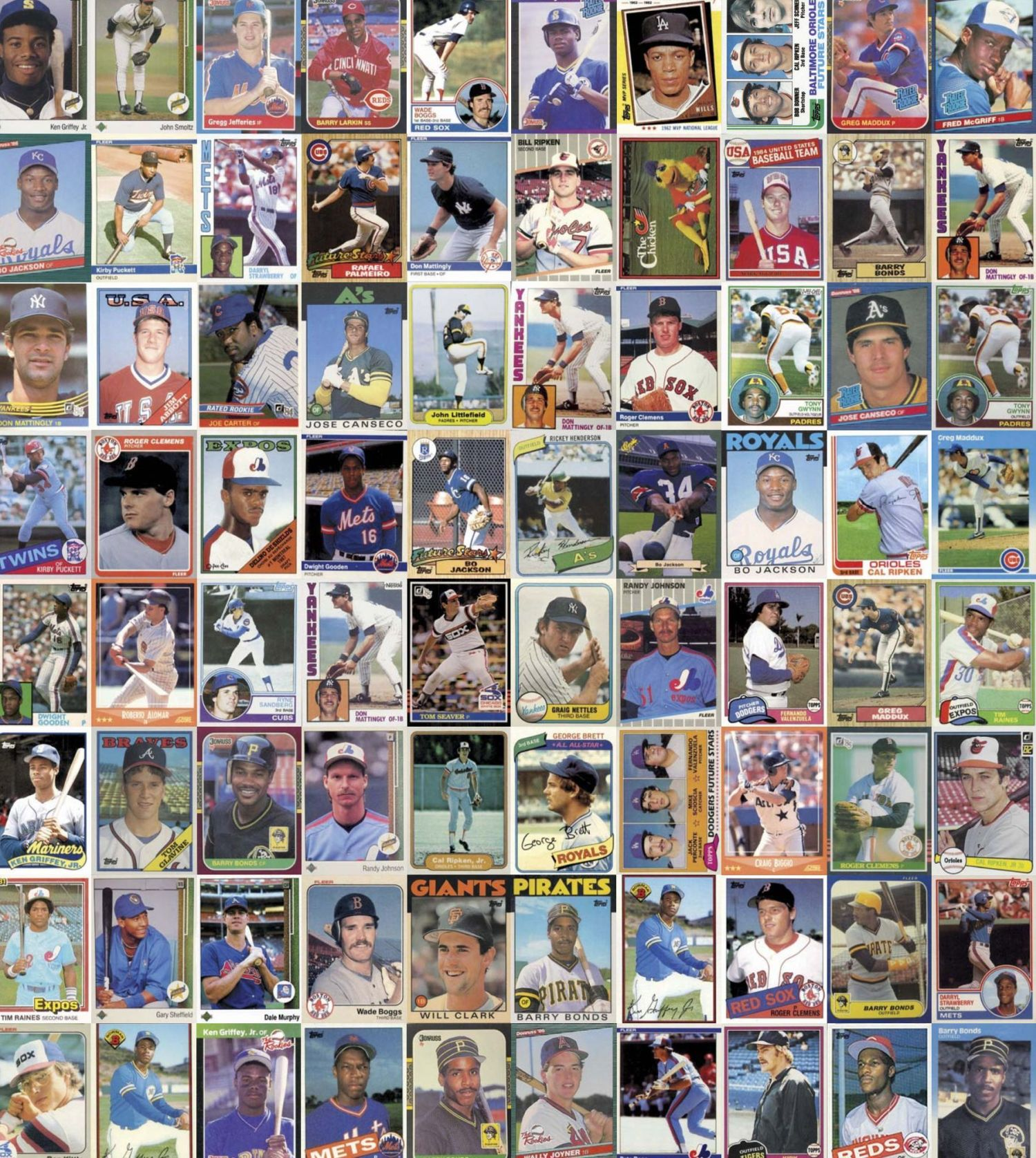 Top 80 Cards Of The 80s Pocketmagscom