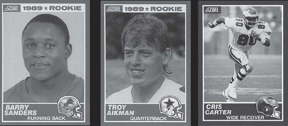 Three Great Cards From 1989 Score Pocketmagscom