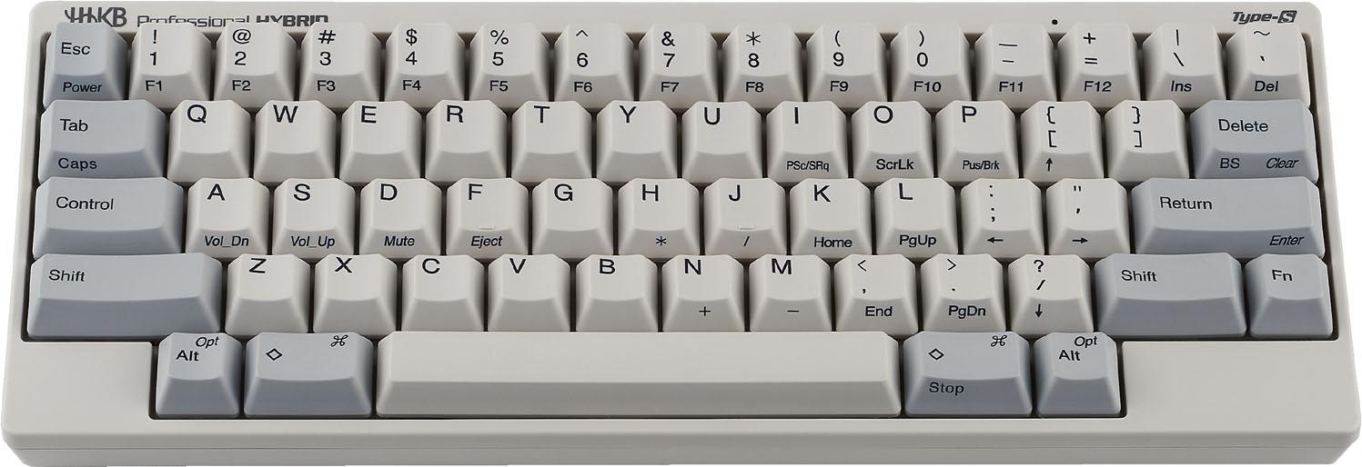 Hybrid type s Hhkb