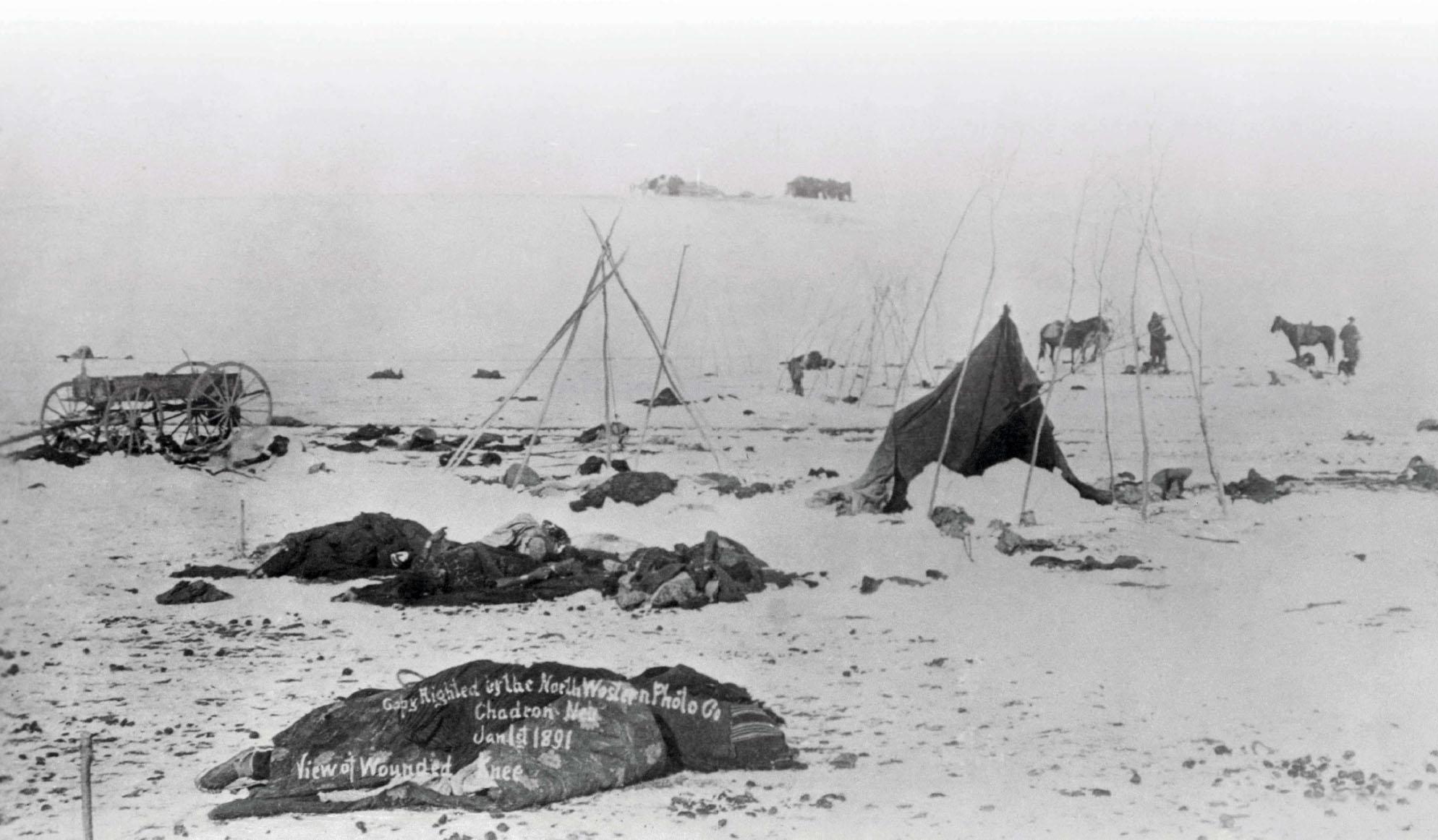 Wounded Knee Massacre | Pocketmags.com