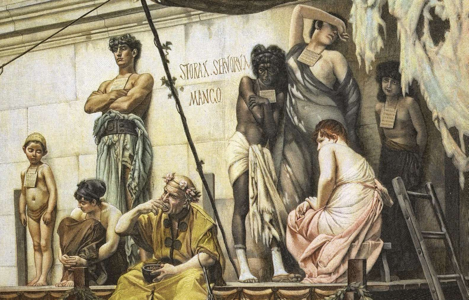 SLAVERY IN ANCIENT ROME | Pocketmags.com