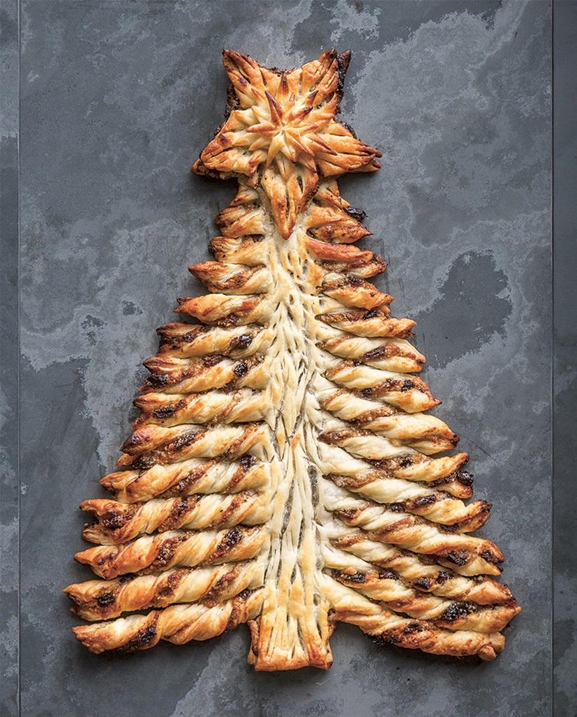 mince pie christmas tree