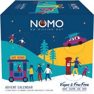 Vegan Chocolate Brand Nomo Launches New Festive Advent Calendar Pocketmags Com