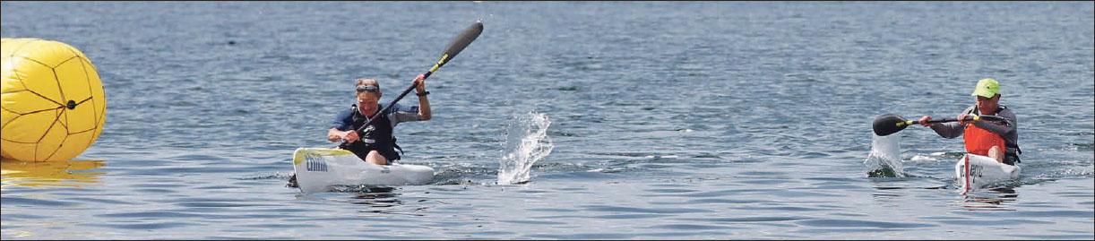 Kayak race ends in a dead-heat | Pocketmags com