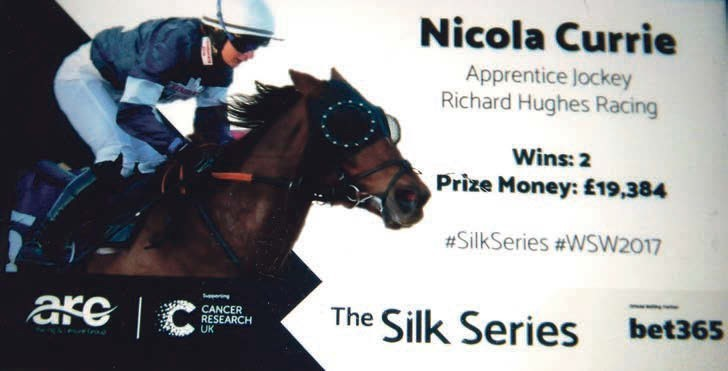 Nicola is odds on for horse racing glory | Pocketmags com