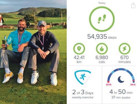 Golf charity challenge – 72 holes in a day | Pocketmags com