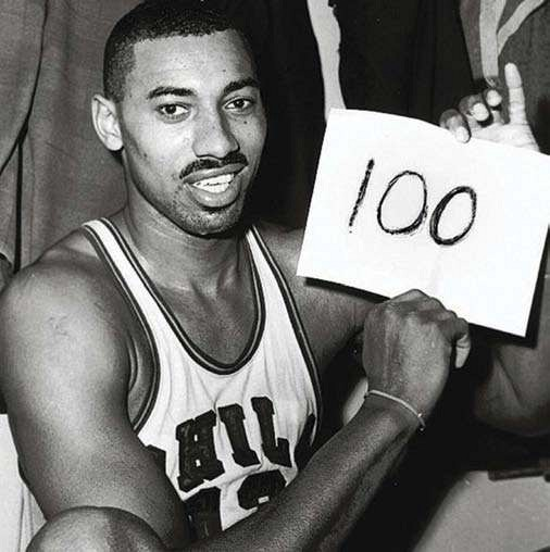 Wilt Chamberlain's 100-point game: Fun facts ...