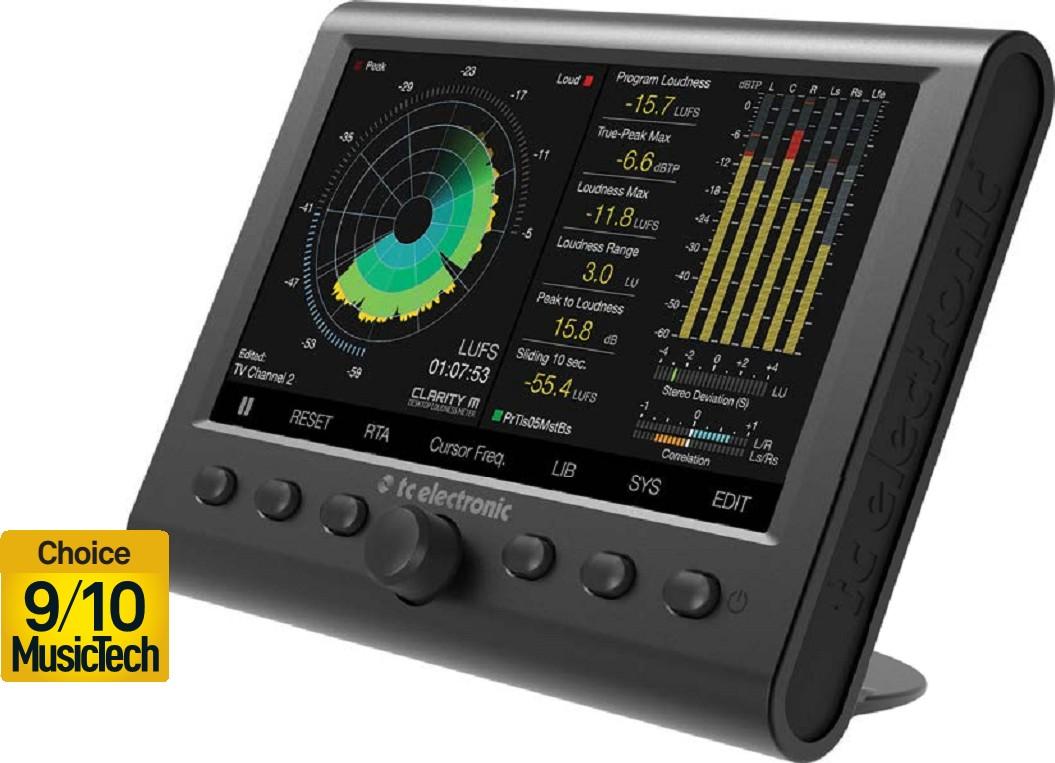 TC ELECTRONIC CLARITY M Desktop Audio Meter | Pocketmags com