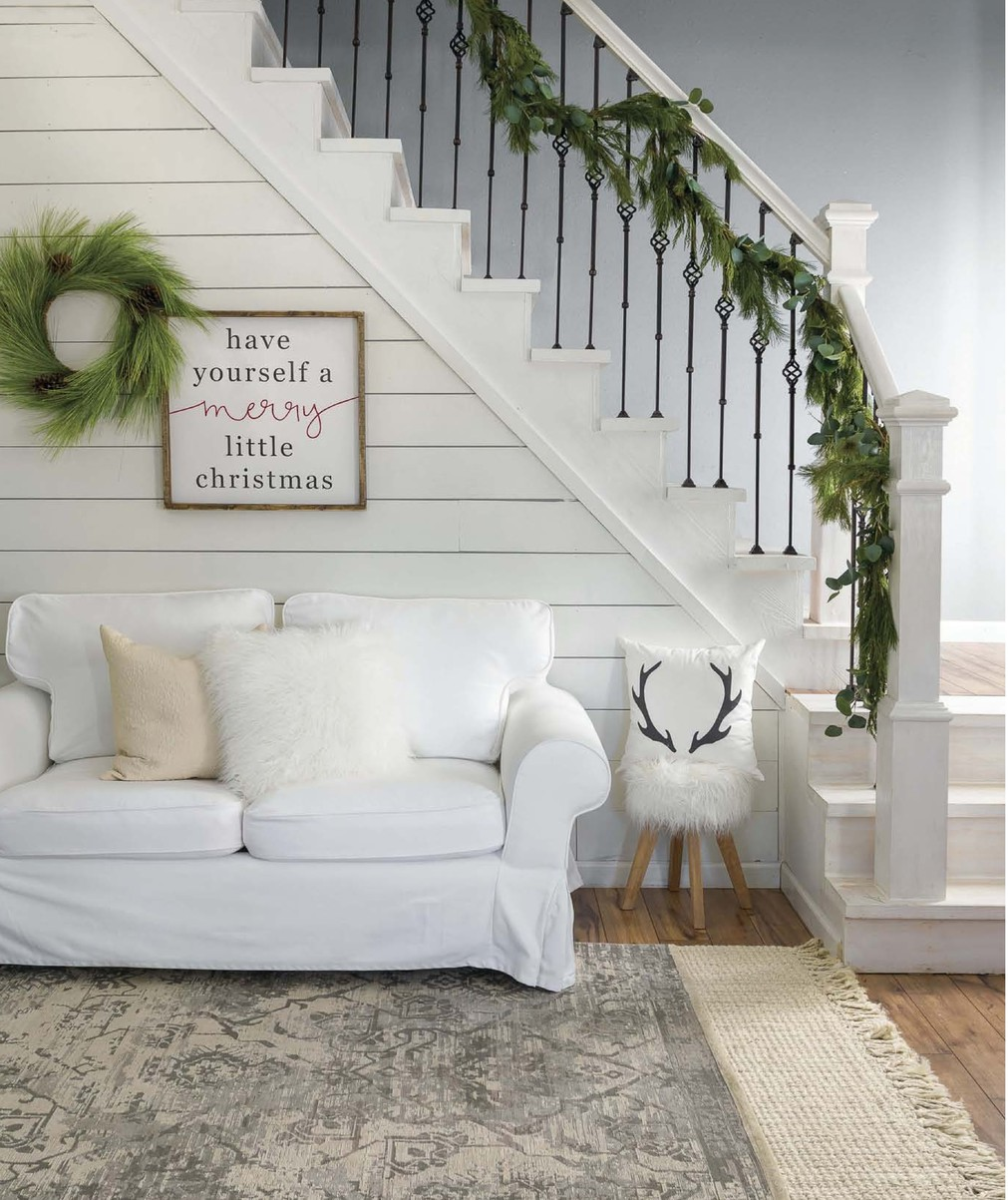 homeowner jo shetley uses signs throughout her homethe sweet sentiments capture the beauty of life this timber and gray sign calls to mind old carols - When Did White Christmas Come Out
