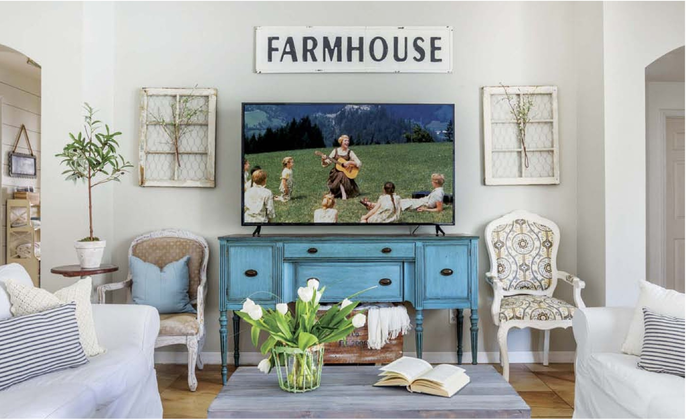 Picture of: Farmhouse Furniture Pocketmags Com